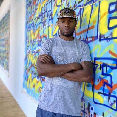 Painter, Poet, Muralist Edreys Wajed