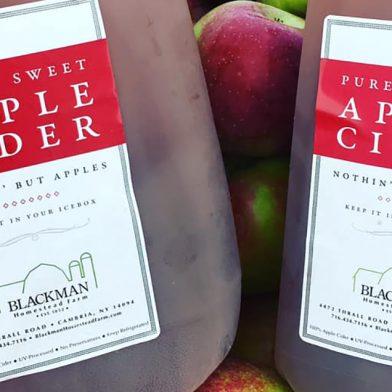 Blackmans apple cider