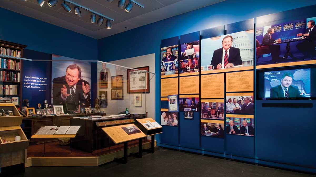Tim Russert Office