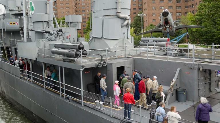 Naval Park Reunion Ship