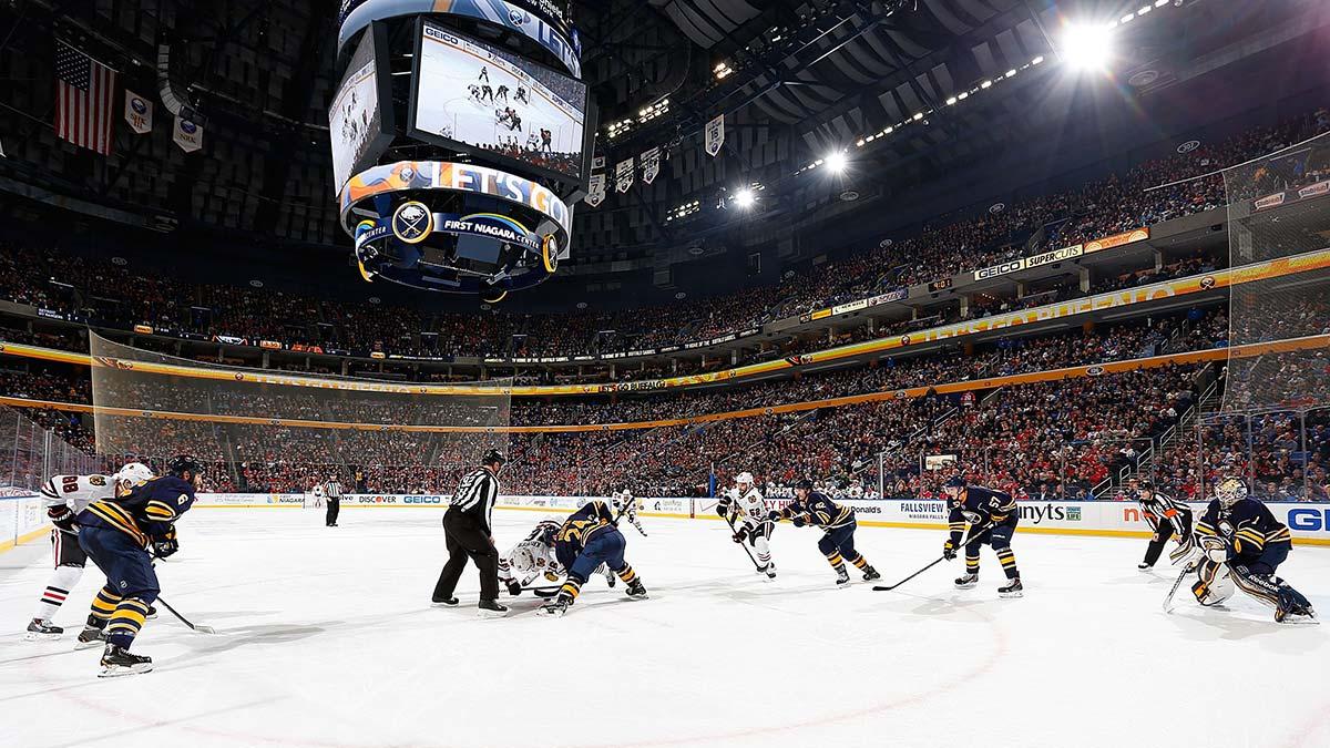 Sabres full stadium