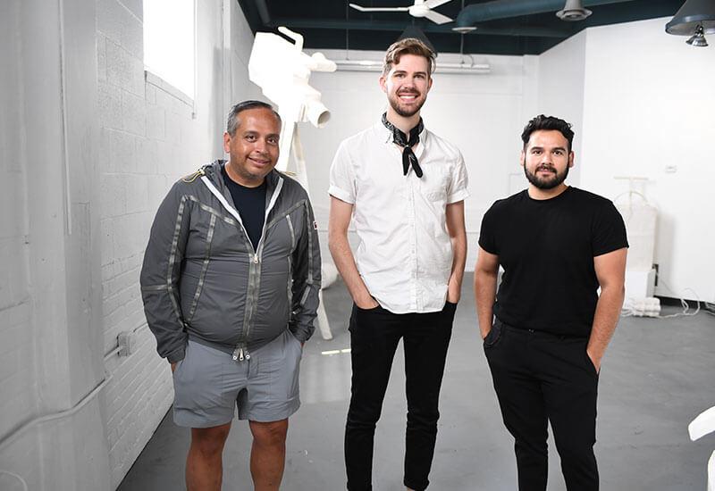 Jeffrey, Joe & Paco: The Art Aficionados